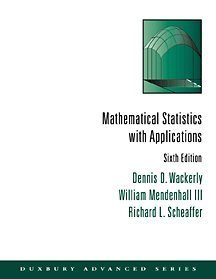 Mathematical Statistics with Applications  6th 2002 (Revised) edition cover