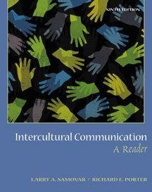 Intercultural Communication A Reader 9th 2000 edition cover
