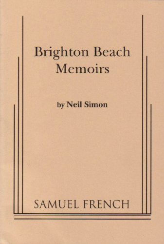Brighton Beach Memoirs   1984 edition cover
