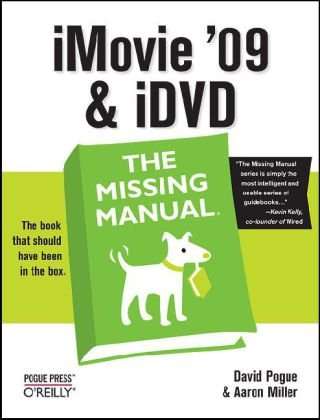 iMovie '09 and iDVD   2009 edition cover
