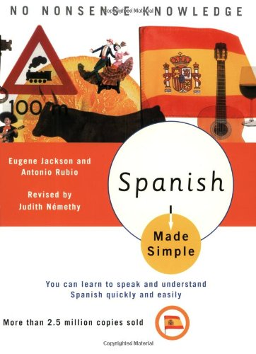 Spanish Made Simple   2004 (Revised) edition cover