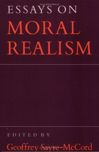 Essays on Moral Realism   1988 edition cover