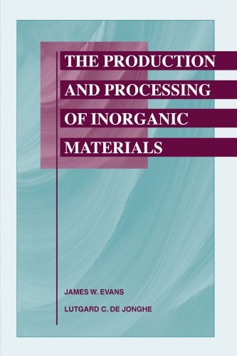 Production and Processing of Inorganic Materials  2nd 2002 9780873395410 Front Cover