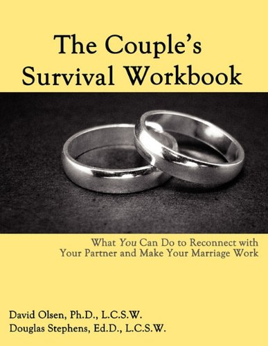 Couple's Survival Workbook What You Can Do to Reconnect with Your Partner and Make Your Marriage Work N/A edition cover