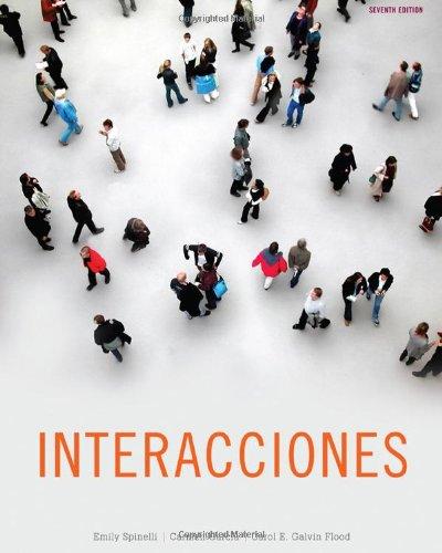 Interacciones  7th 2013 edition cover