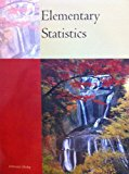 ELEMENTARY STATISTICS >CUSTOM< N/A 9781133355410 Front Cover
