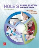 Student Study Guide for Hole's Human Anatomy & Physiology  14th 2016 edition cover