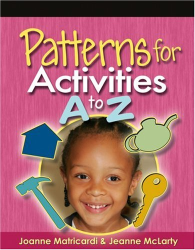 Patterns for Activities A to Z   2006 edition cover