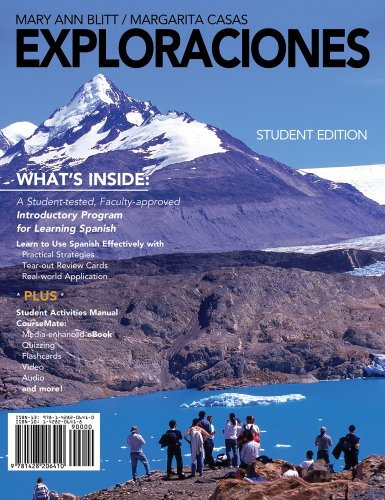 Exploraciones   2012 (Student Manual, Study Guide, etc.) edition cover