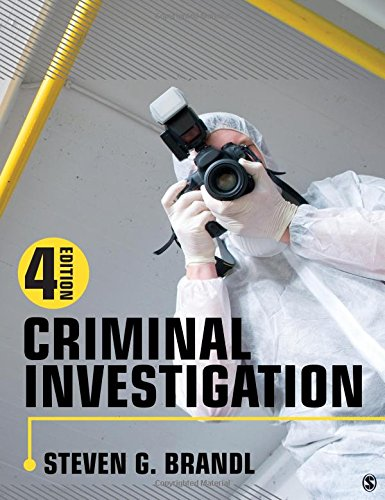 Criminal Investigation  4th 2019 9781506391410 Front Cover