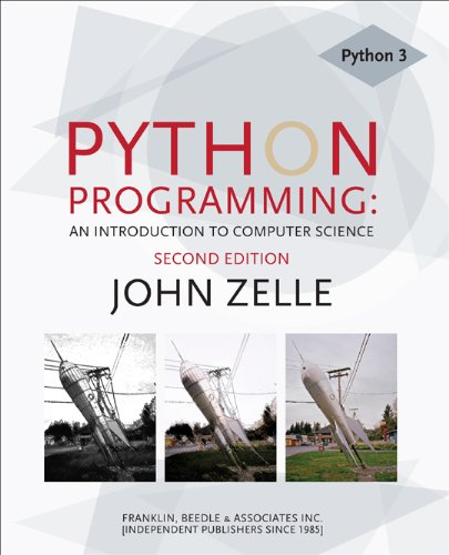 Python Programming An Introduction to Computer Science 2nd 2010 (Student Manual, Study Guide, etc.) 9781590282410 Front Cover