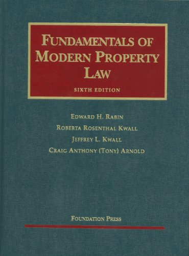 Fundamentals of Modern Property Law  6th 2011 (Revised) edition cover