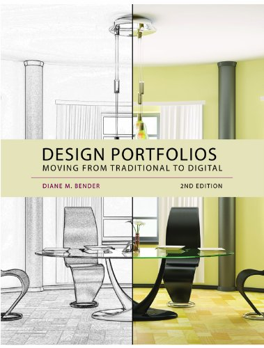 Design Portfolios Moving from Traditional to Digital 2nd 2012 edition cover