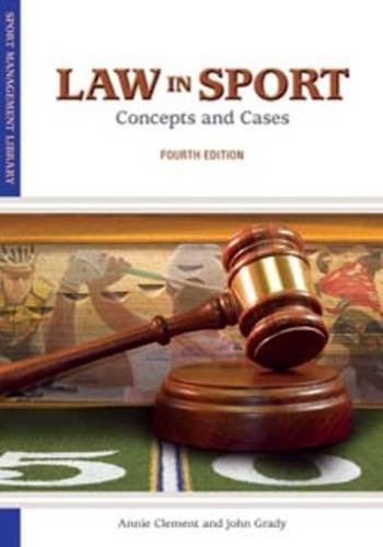 Law in Sport  4th 2012 edition cover
