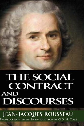 Social Contract and Discourses  N/A edition cover