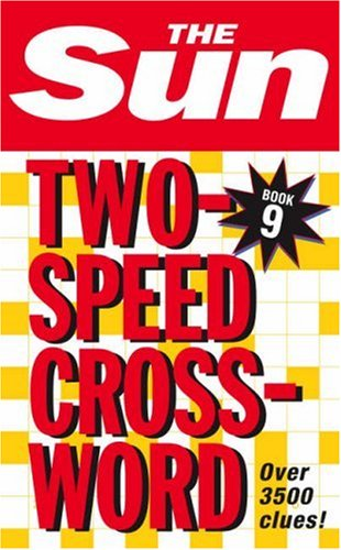Sun Two-Speed Crossword Book 9  9th 9780007210411 Front Cover