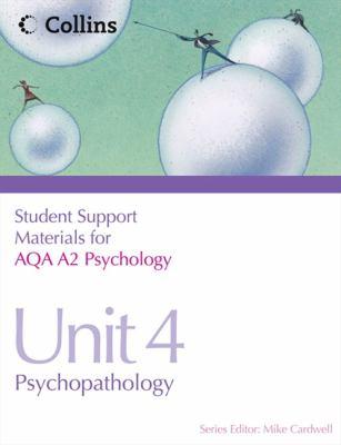 Psychopathology, Unit 4   2011 edition cover