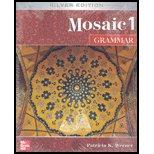 Mosaic 1 Grammar 5th 2007 edition cover