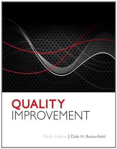 Quality Improvement  9th 2013 (Revised) edition cover