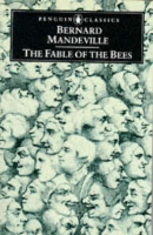Fable of the Bees Or Private Vices, Publick Benefits  1970 edition cover