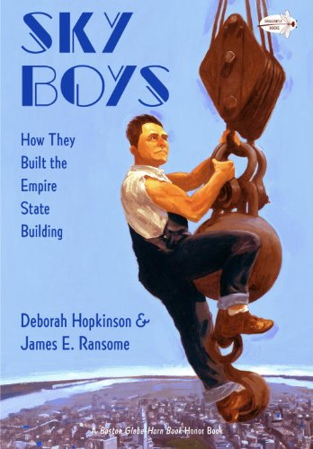 Sky Boys How They Built the Empire State Building  2012 edition cover