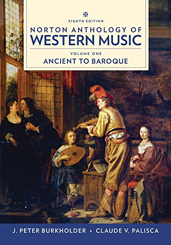 Norton Anthology of Western Music  8th 9780393656411 Front Cover