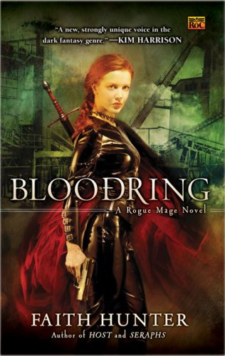 Bloodring A Rogue Mage Novel N/A 9780451462411 Front Cover