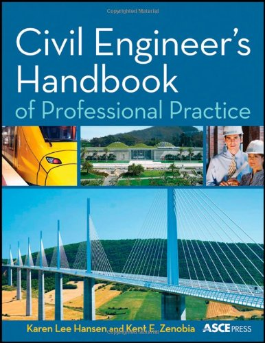 Civil Engineer's Handbook of Professional Practice   2011 edition cover