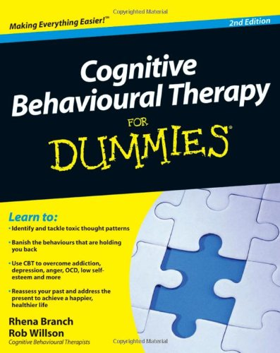 Cognitive Behavioural Therapy for Dummies�  2nd 2010 edition cover