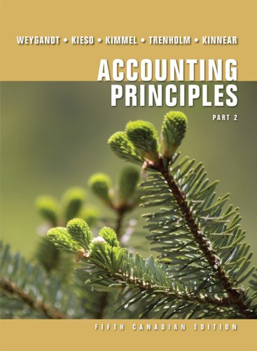 Accounting Principles Fifth Canadian Edition Part 2   2010 9780470678411 Front Cover