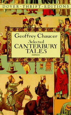 Geoffrey Chaucer - Selected Canterbury Tales   1994 edition cover