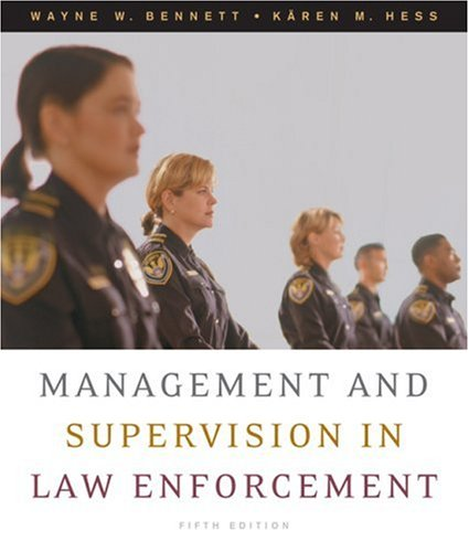 Management and Supervision in Law Enforcement  5th 2007 (Revised) edition cover