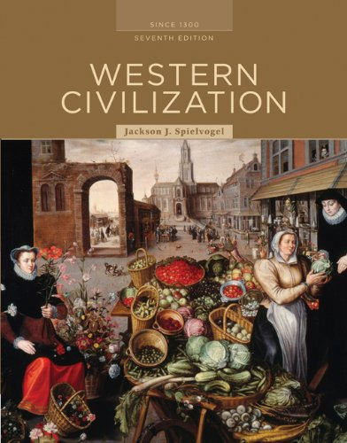 Western Civilization since 1300  7th (Alternate) edition cover