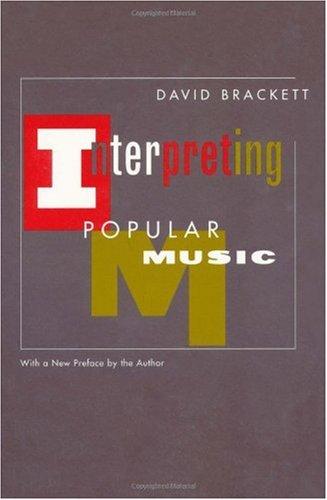 Interpreting Popular Music   2000 edition cover