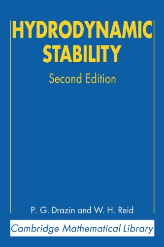 Hydrodynamic Stability  2nd 2002 (Revised) 9780521525411 Front Cover