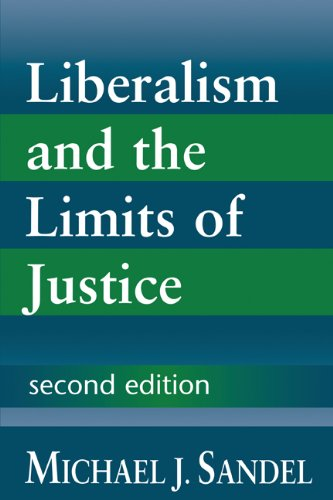 Liberalism and the Limits of Justice  2nd 1996 (Revised) 9780521567411 Front Cover