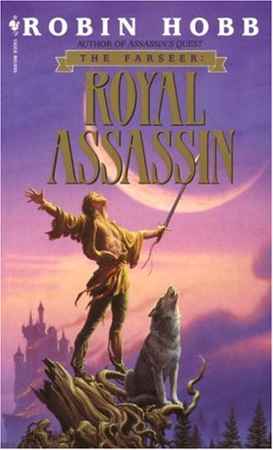 Royal Assassin The Farseer Trilogy Book 2  1996 9780553573411 Front Cover