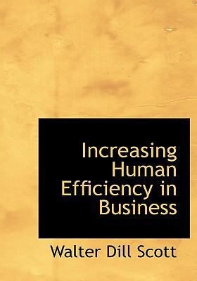 Increasing Human Efficiency in Business  2008 edition cover