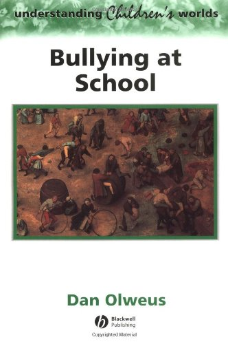 Bullying at School What We Know and What We Can Do  1993 edition cover