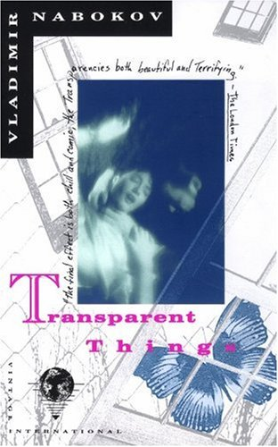 Transparent Things  N/A edition cover