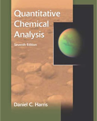 Quantitative Chemical Analysis  7th 2007 edition cover