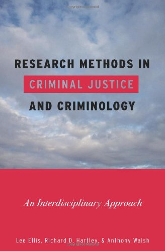 Research Methods in Criminal Justice and Criminology An Interdisciplinary Approach  2010 edition cover