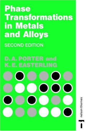 Phase Transformations in Metals and Alloys  2nd 1992 (Revised) edition cover