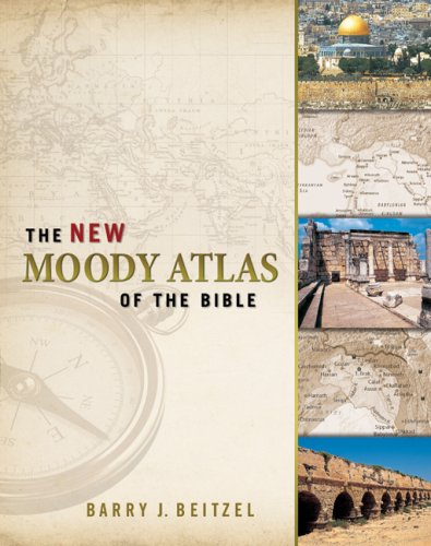 New Moody Atlas of the Bible  N/A edition cover
