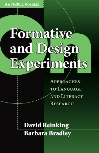 On Formative and Design Experiments Approaches to Language and Literacy Research  2008 edition cover
