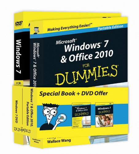 Microsoft Windows 7 and Office 2010 for Dummies�   2011 9781118029411 Front Cover