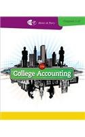 College Accounting: Chapters 1-27 21st 2013 edition cover