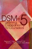 DSM-5 Learning Companion for Counselors:   2014 9781556203411 Front Cover