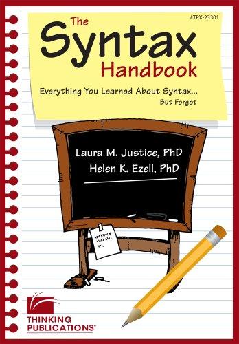Syntax Handbook Tpx23301 N/A edition cover