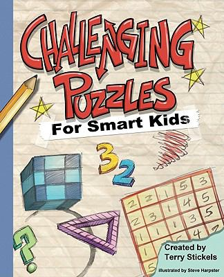 Challenging Puzzles for Smart Kids  N/A 9781936140411 Front Cover
